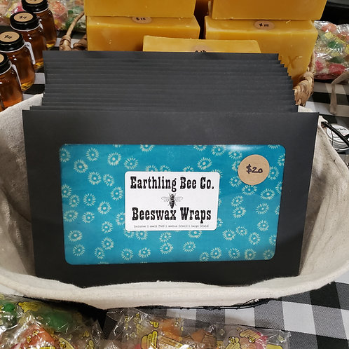 Beeswax Food Wrap 3 Pc. Set