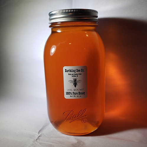 Local Wildflower Honey Quart