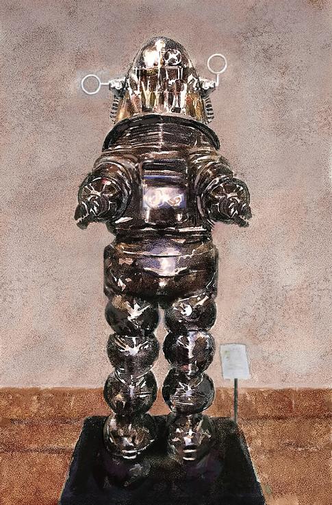 Robot for sale in San Francisco shop