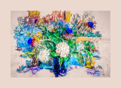 Scottish Table Flowers. 2021.