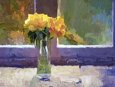 Yellow Roses.  2020.