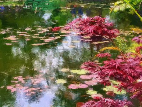 Lilies in Monet's garden
