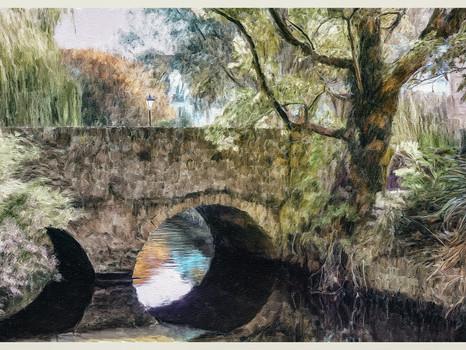 Bridge over River Avon. Dorset.2020