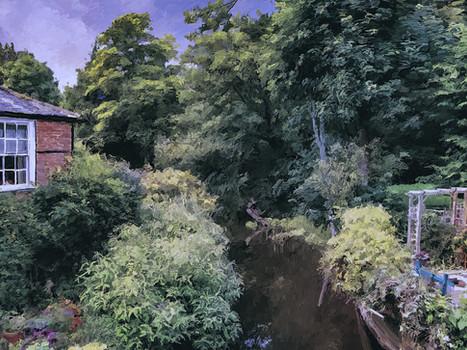 Dorset riverside house. 2019