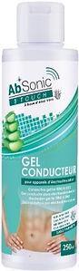 ABSONIC - Touch - Gel conducteur Aloe Vera - Gel conducteur pour électrostimulation - Ceinture abdos