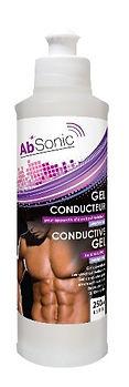 AbSonic Gel conducteur pour électrostimulation - Ceinture abdos