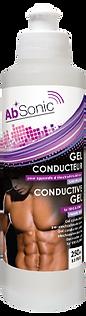 Flacon AbSonic - Gel Conducteur pour Ceinture électrostimulation