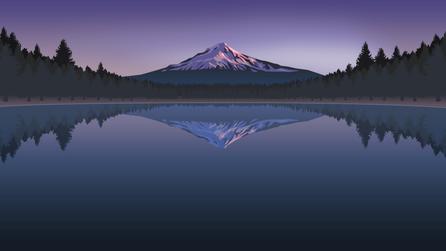 Minimalist Mountain
