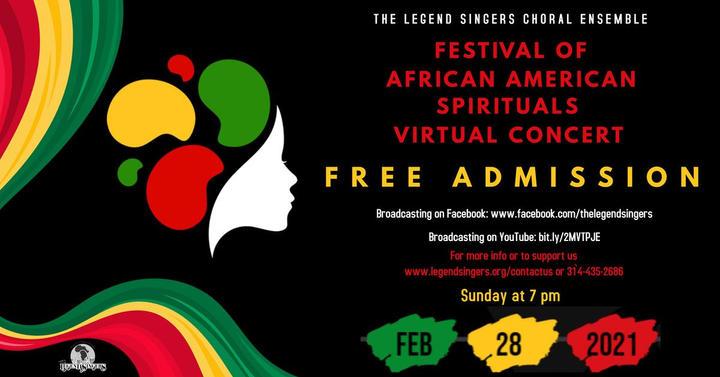 Festival of African American Spirituals Virtual Concert