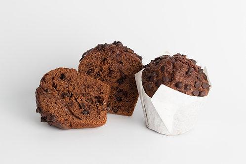 Super Muffins de Chocolate con Chips de 130 grs. x 6 unidades.