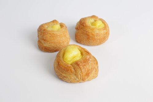 Circular con crema pastelera x 6 unidades