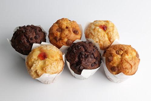 Super Muffins 3 Sabores X Caja De 9 Unidades