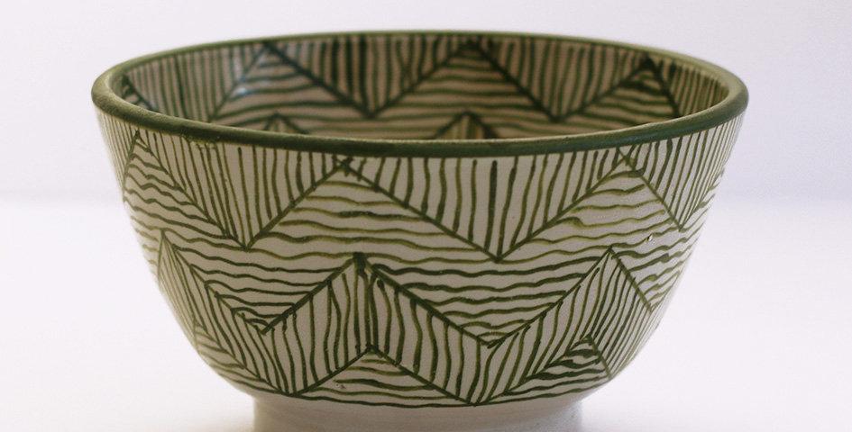 Keramikschale - M