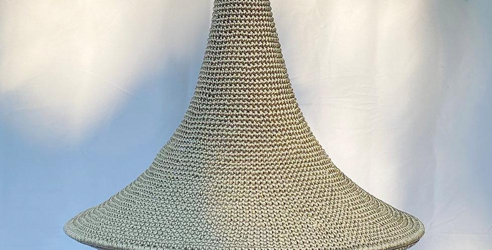 Wahad Crochet Hängelampe - Taupe - Large