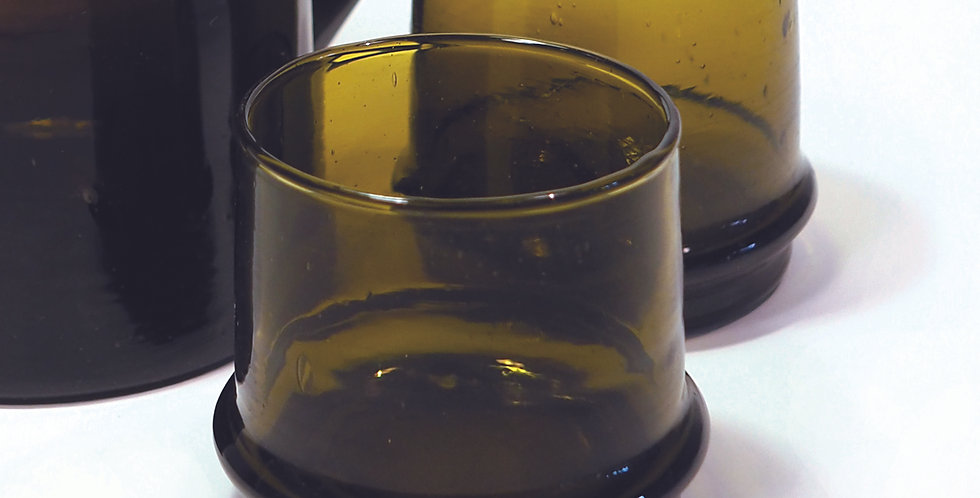 "Glasbecher KESSY BELDI"" - Marron 7 cm"