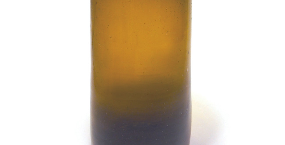 "Glaskaraffe ENVERS - ""KESSY BELDI"" - Marron 1 Liter"