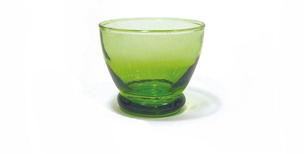 "Glasschale LUNA ""KESSY BELDI"" - grün 7,5 cm"
