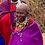 Thumbnail: Massai Perlenschmuck Halskette