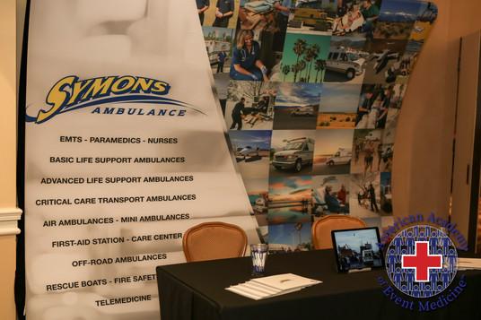 Symons Ambulance @ MGMS