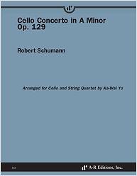 Schumann cello concerto arr. cello & string quartet