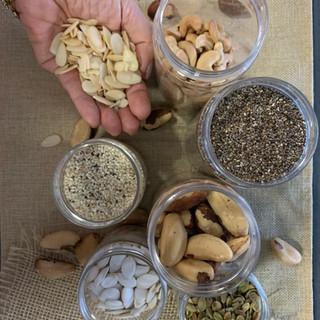 Nuts, as sementinhas do bem!🥜 🌰