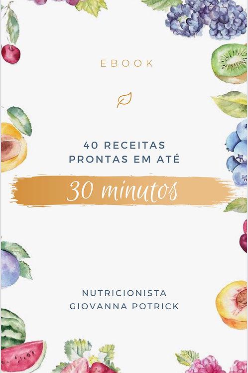 E.book - Receitas Prontas em 30 minutos