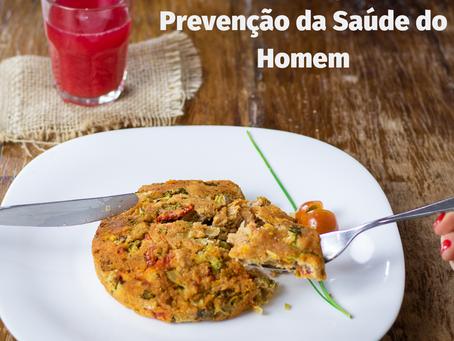 A alimentação como prevenção na saúde do homem