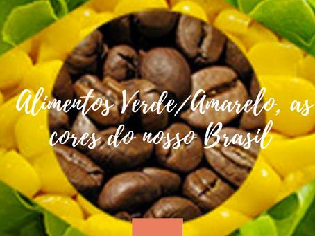 Alimentos Verde/Amarelo, as cores do nosso Brasil