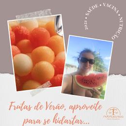 Frutas de Verão, aproveite para se hidratar…