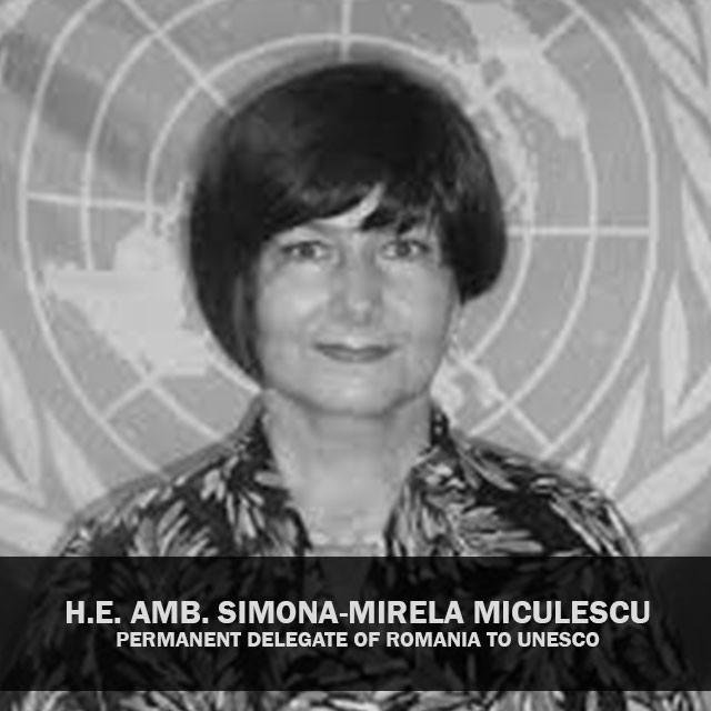 H.E. Amb. Simona-Mirela Miculescu