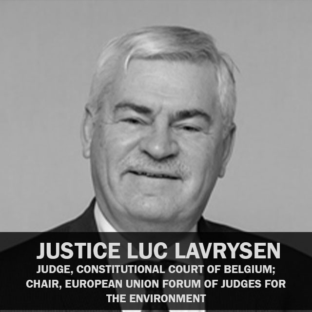 Justice Luc Lavrysen