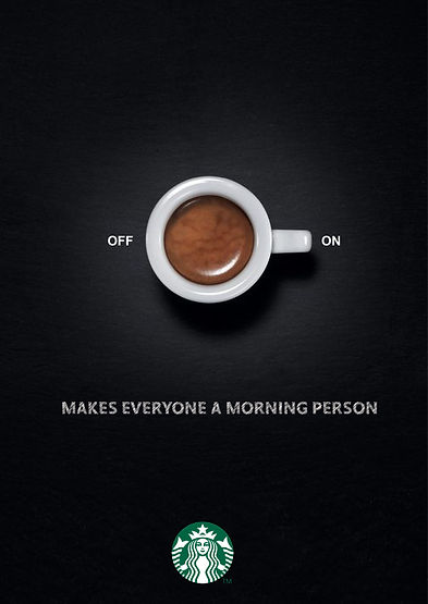 starbucks off on coffee morning person.j