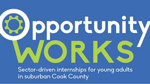 Opportunity WORKS Student Interns Complete 7- Week Program