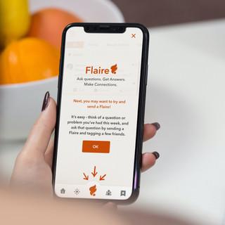 Flaire App Design