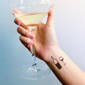 Wine Tattoo