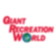 Giant RV World Social Media Logo WHITE B