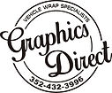 Graphic Direct WRAP SPECIALISTS logo BLA