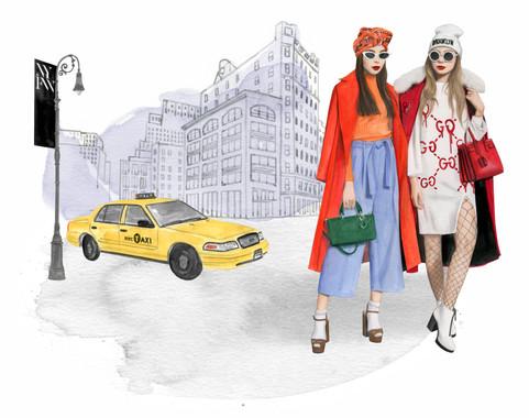 NYFW streetstyle by Dena Cooper