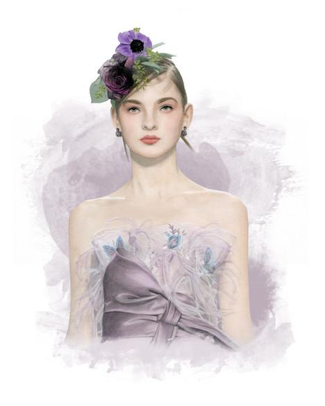 Marchesa gown by Dena Cooper