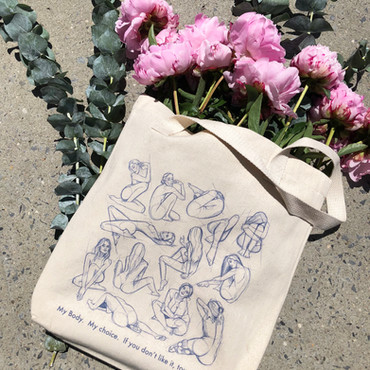 FEMALE RIGHTS TOTE BAG