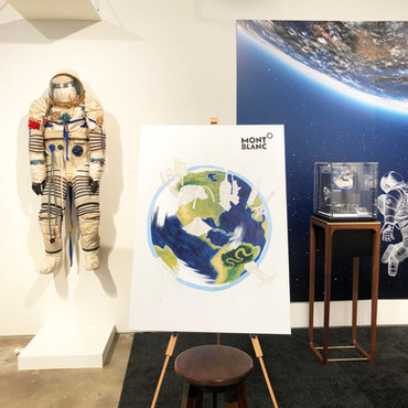 Montblanc Live Illustration at Sotheby's