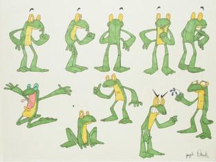 Frog Character Sheet