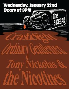 Sidebar Concert Poster