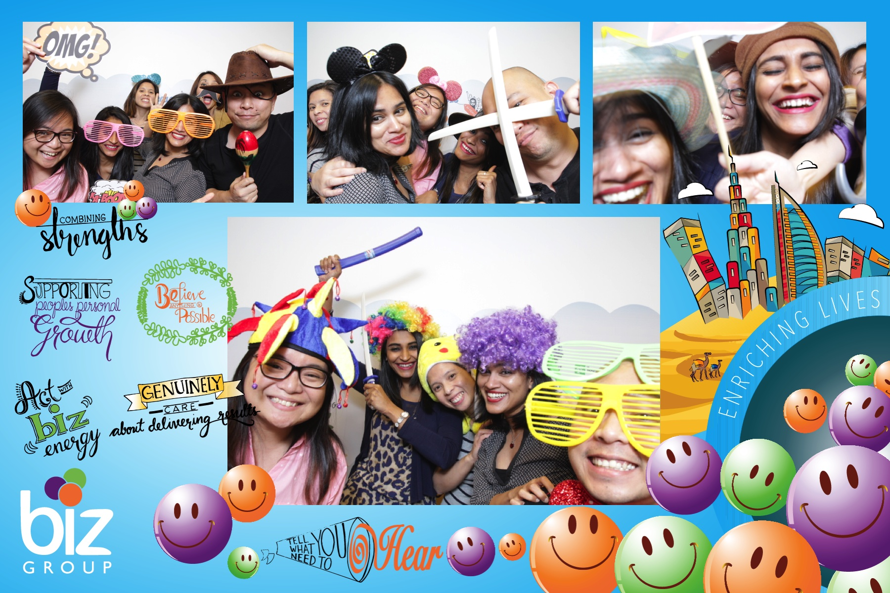 Biz Group Photo Booth 2