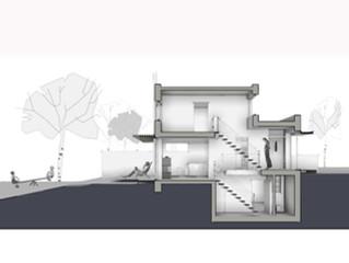 Haus B , Entwurfskonzept