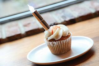 Wishful Wicks Flameless Candle Cupcake