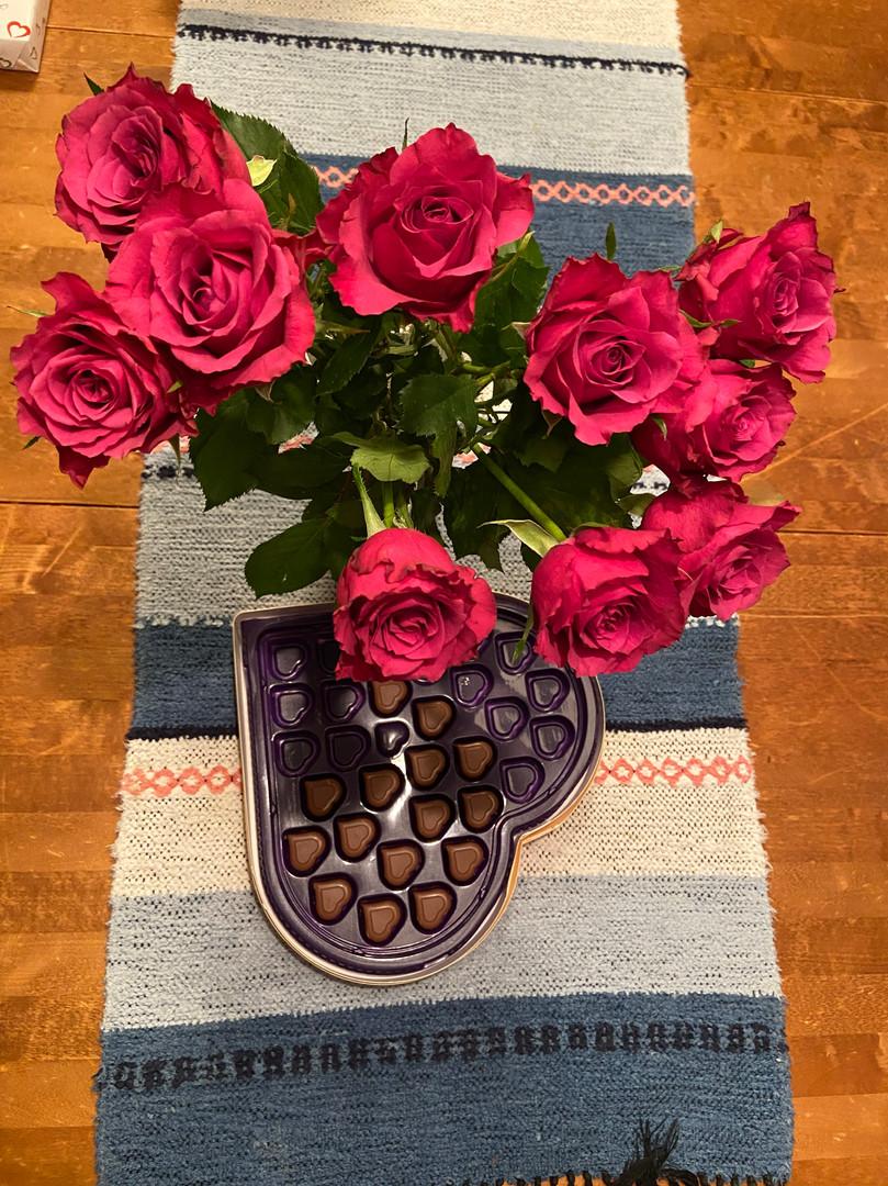 Ystävänpäivän ruusu jokaiselle