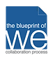 Blueprint of We Logo Square with White.p