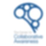 Collaborative Awareness Logo Brain White