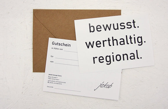 """Gutschein """"50"""""""